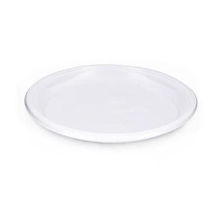 Тарелка D=210 мм белая розница