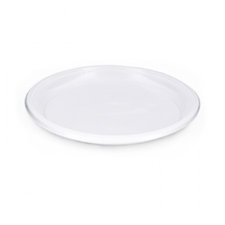 Тарелка D=210 мм белая опт.