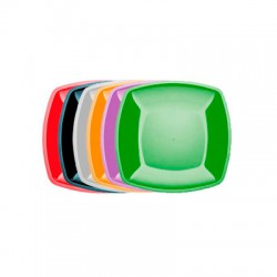 Тарелка Buffet 230мм*230мм цветная