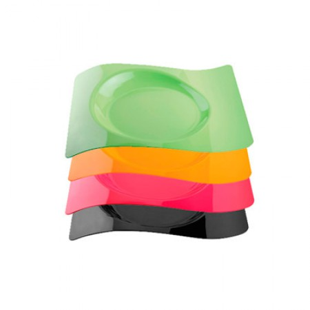 Тарелка Волна малая  Buffet 180*220 цветная