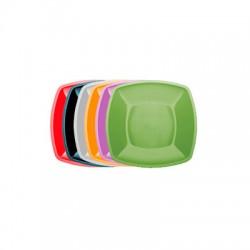 Тарелка глубокая Buffet 180мм*180мм цветная
