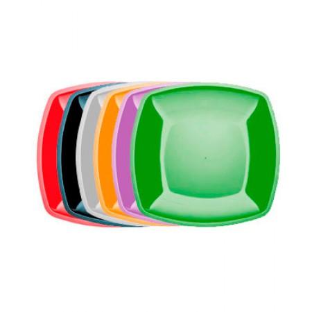 Тарелка Buffet 300мм*300мм цветная перламутр