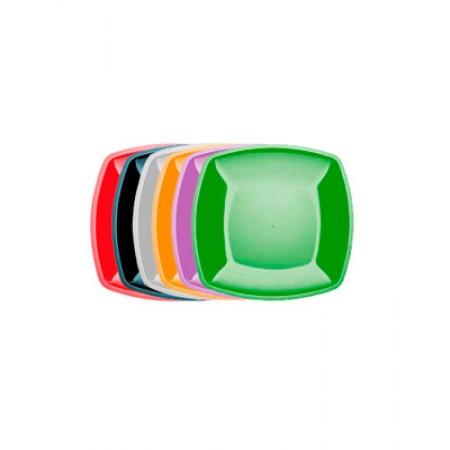 Тарелка Buffet 180мм*180мм цветная