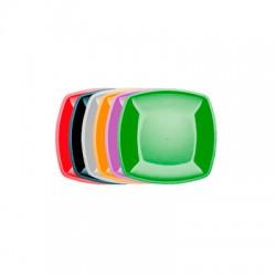 Тарелка Buffet 180мм*180мм цветная в шоу-боксах