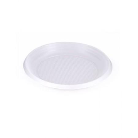 Тарелка десертная D=167 мм белая опт.